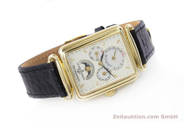 Used luxury watch Ulysse Nardin Michelangelo 18 ct gold automatic Kal. 16-5 Ref. 161-42  | 153532 03