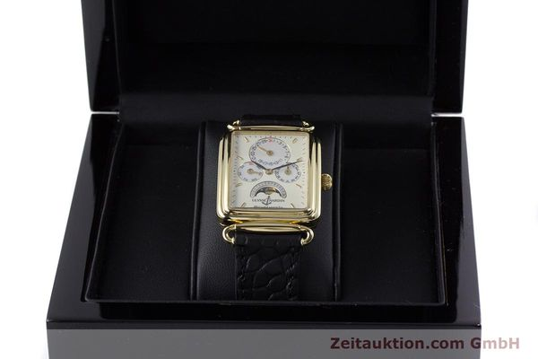 Used luxury watch Ulysse Nardin Michelangelo 18 ct gold automatic Kal. 16-5 Ref. 161-42  | 153532 07