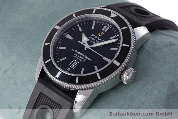 Used luxury watch Breitling Superocean steel automatic Kal. B17 ETA 2824-2 Ref. A17320  | 153535 01