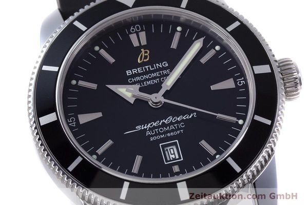 Used luxury watch Breitling Superocean steel automatic Kal. B17 ETA 2824-2 Ref. A17320  | 153535 02