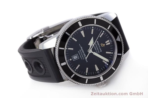Used luxury watch Breitling Superocean steel automatic Kal. B17 ETA 2824-2 Ref. A17320  | 153535 03