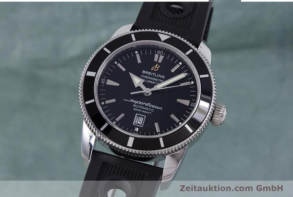 Used luxury watch Breitling Superocean steel automatic Kal. B17 ETA 2824-2 Ref. A17320  | 153535 04