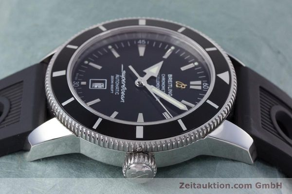 Used luxury watch Breitling Superocean steel automatic Kal. B17 ETA 2824-2 Ref. A17320  | 153535 05