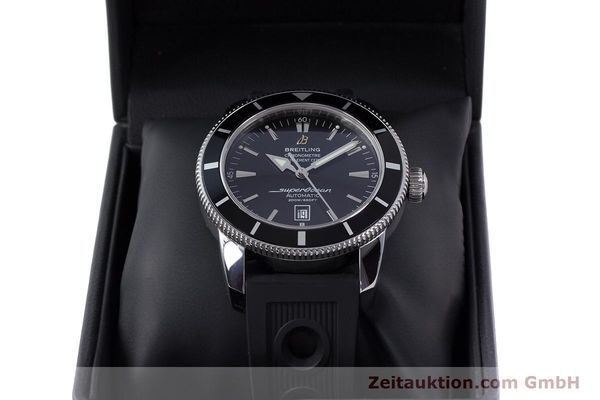 Used luxury watch Breitling Superocean steel automatic Kal. B17 ETA 2824-2 Ref. A17320  | 153535 07
