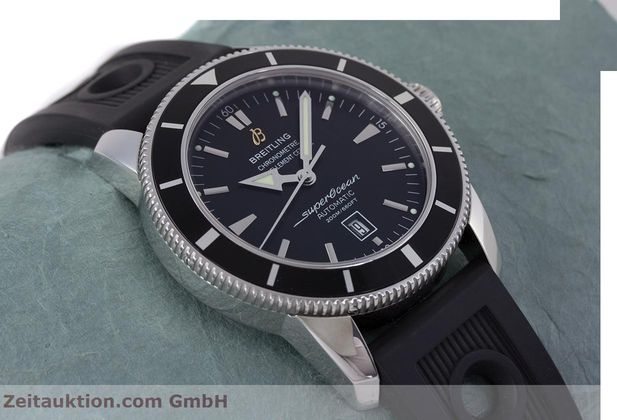 Used luxury watch Breitling Superocean steel automatic Kal. B17 ETA 2824-2 Ref. A17320  | 153535 14