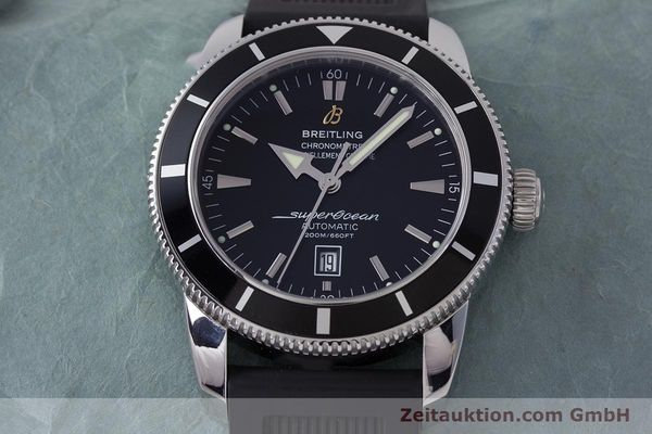 Used luxury watch Breitling Superocean steel automatic Kal. B17 ETA 2824-2 Ref. A17320  | 153535 15