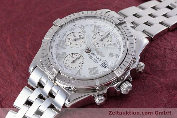 Used luxury watch Breitling Crosswind chronograph steel automatic Kal. B13 ETA 7750 Ref. A13355  | 153537 01