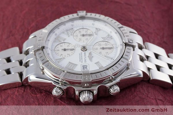 Used luxury watch Breitling Crosswind chronograph steel automatic Kal. B13 ETA 7750 Ref. A13355  | 153537 05