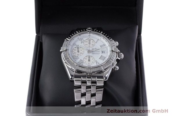 Used luxury watch Breitling Crosswind chronograph steel automatic Kal. B13 ETA 7750 Ref. A13355  | 153537 07