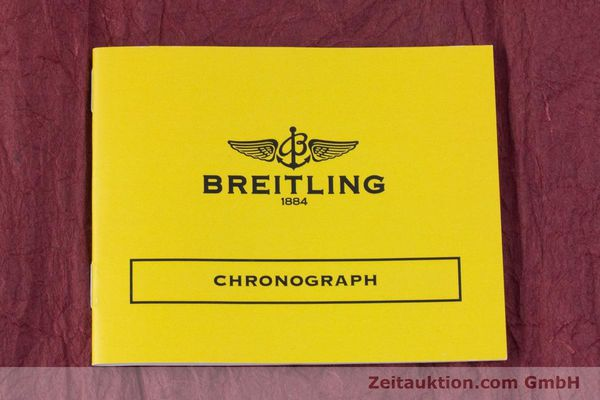 Used luxury watch Breitling Crosswind chronograph steel automatic Kal. B13 ETA 7750 Ref. A13355  | 153537 13