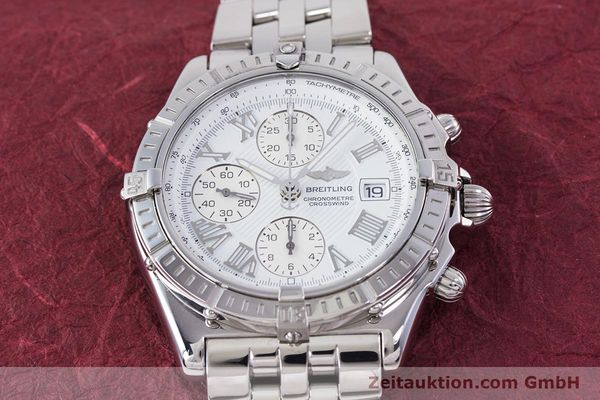 Used luxury watch Breitling Crosswind chronograph steel automatic Kal. B13 ETA 7750 Ref. A13355  | 153537 16
