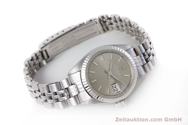 Used luxury watch Rolex Lady Date steel / white gold automatic Kal. 2030 Ref. 6917  | 153540 03