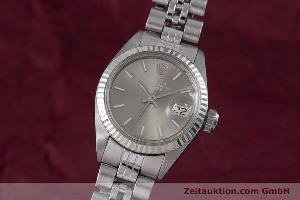 Used luxury watch Rolex Lady Date steel / white gold automatic Kal. 2030 Ref. 6917  | 153540 04