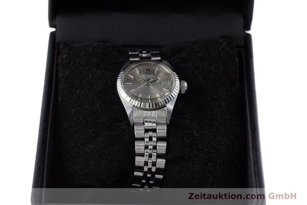 Used luxury watch Rolex Lady Date steel / white gold automatic Kal. 2030 Ref. 6917  | 153540 07