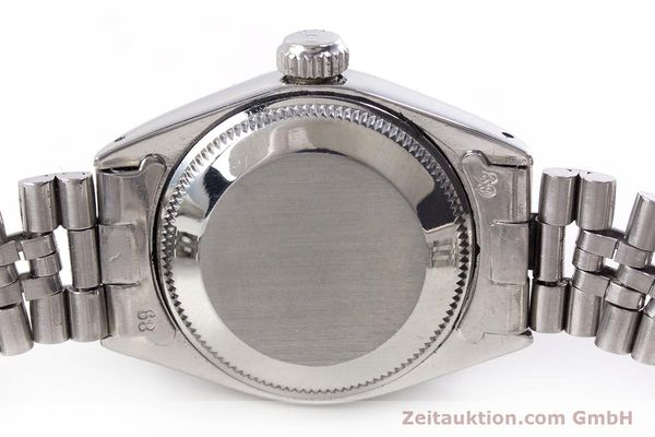 Used luxury watch Rolex Lady Date steel / white gold automatic Kal. 2030 Ref. 6917  | 153540 08