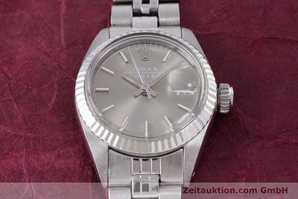 Used luxury watch Rolex Lady Date steel / white gold automatic Kal. 2030 Ref. 6917  | 153540 16