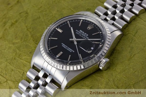 Used luxury watch Rolex Datejust steel automatic Kal. 3035 Ref. 16030  | 153542 01