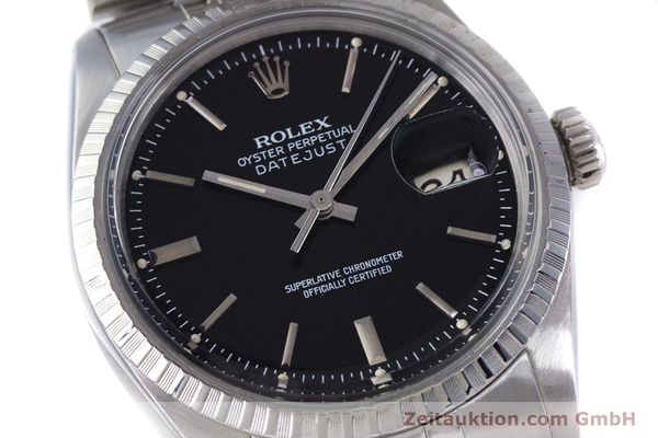 Used luxury watch Rolex Datejust steel automatic Kal. 3035 Ref. 16030  | 153542 02
