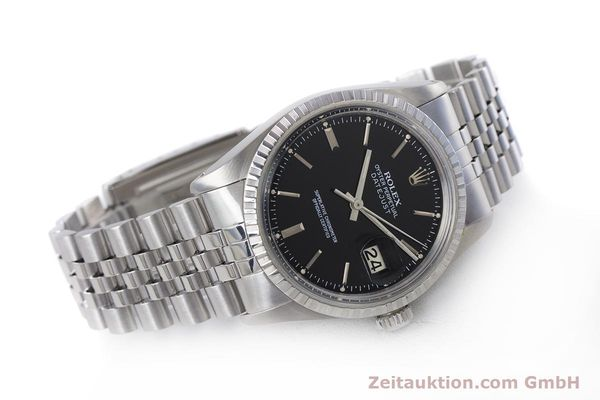 Used luxury watch Rolex Datejust steel automatic Kal. 3035 Ref. 16030  | 153542 03