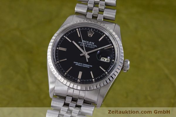 Used luxury watch Rolex Datejust steel automatic Kal. 3035 Ref. 16030  | 153542 04