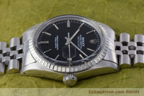 Used luxury watch Rolex Datejust steel automatic Kal. 3035 Ref. 16030  | 153542 05