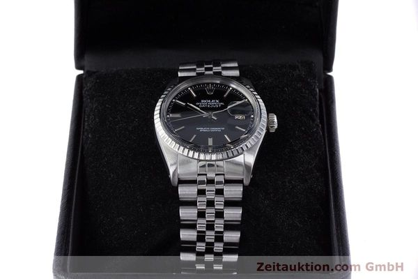 Used luxury watch Rolex Datejust steel automatic Kal. 3035 Ref. 16030  | 153542 07