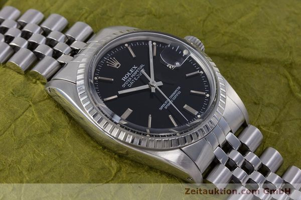 Used luxury watch Rolex Datejust steel automatic Kal. 3035 Ref. 16030  | 153542 14