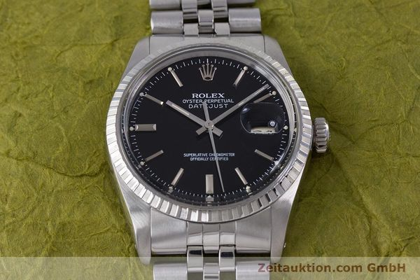 Used luxury watch Rolex Datejust steel automatic Kal. 3035 Ref. 16030  | 153542 15
