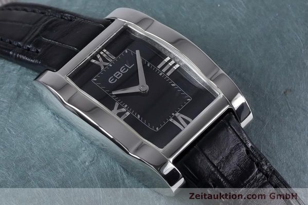 Used luxury watch Ebel Tarawa steel quartz Kal. 656 Ref. 9656J21  | 153547 12