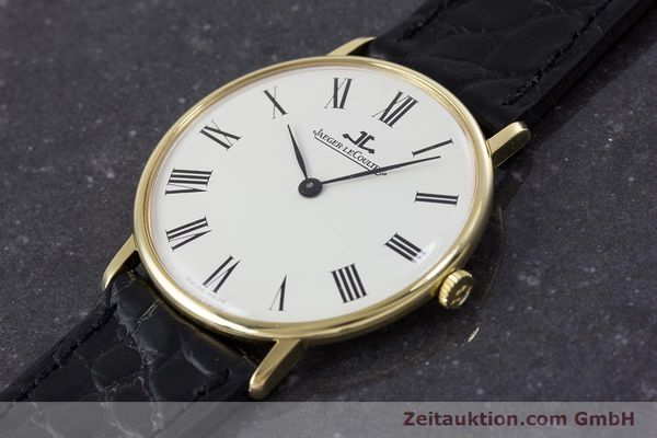 Used luxury watch Jaeger Le Coultre * 18 ct gold manual winding Kal. 818/3 Ref. 9124 21  | 153549 01