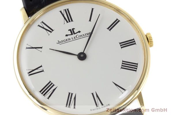 Used luxury watch Jaeger Le Coultre * 18 ct gold manual winding Kal. 818/3 Ref. 9124 21  | 153549 02