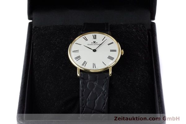 Used luxury watch Jaeger Le Coultre * 18 ct gold manual winding Kal. 818/3 Ref. 9124 21  | 153549 07