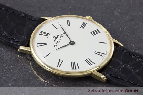 Used luxury watch Jaeger Le Coultre * 18 ct gold manual winding Kal. 818/3 Ref. 9124 21  | 153549 13