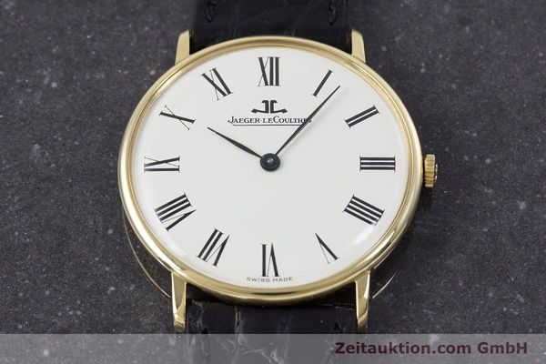 Used luxury watch Jaeger Le Coultre * 18 ct gold manual winding Kal. 818/3 Ref. 9124 21  | 153549 14