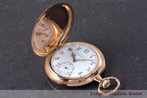 Used luxury watch A. Lange & Söhne ALS Pocket Watch 18 ct red gold manual winding Kal. 43  | 153552 01