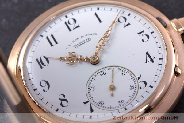 Used luxury watch A. Lange & Söhne ALS Pocket Watch 18 ct red gold manual winding Kal. 43  | 153552 02