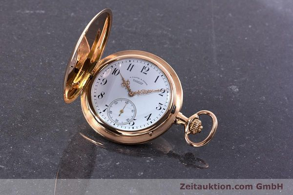Used luxury watch A. Lange & Söhne ALS Pocket Watch 18 ct red gold manual winding Kal. 43  | 153552 04