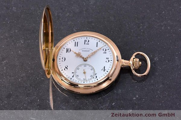 Used luxury watch A. Lange & Söhne ALS Pocket Watch 18 ct red gold manual winding Kal. 43  | 153552 18