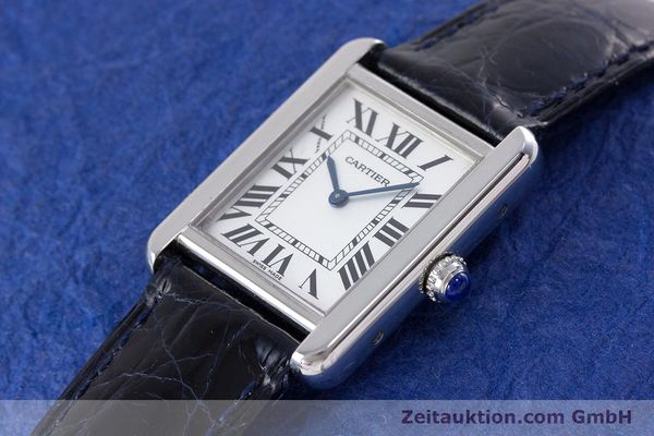 Used luxury watch Cartier Tank steel quartz Kal. 157 Ref. 2716  | 153554 01