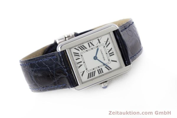 Used luxury watch Cartier Tank steel quartz Kal. 157 Ref. 2716  | 153554 03