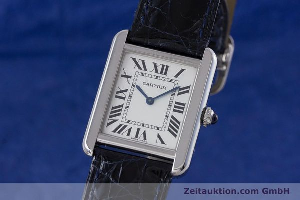 Used luxury watch Cartier Tank steel quartz Kal. 157 Ref. 2716  | 153554 04