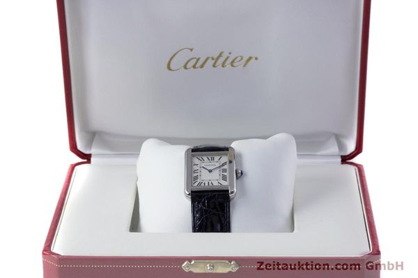 Used luxury watch Cartier Tank steel quartz Kal. 157 Ref. 2716  | 153554 07