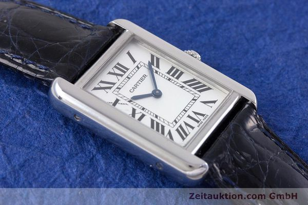Used luxury watch Cartier Tank steel quartz Kal. 157 Ref. 2716  | 153554 12