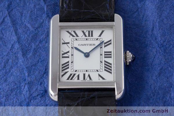 Used luxury watch Cartier Tank steel quartz Kal. 157 Ref. 2716  | 153554 13