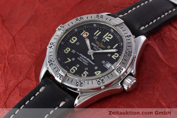 Used luxury watch Breitling Superocean steel automatic Kal. B17 ETA 2824-2 Ref. A17040  | 153560 01