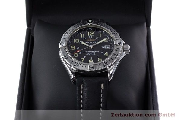 Used luxury watch Breitling Superocean steel automatic Kal. B17 ETA 2824-2 Ref. A17040  | 153560 07