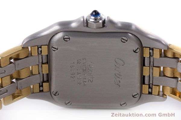 Used luxury watch Cartier Panthere steel / gold quartz Kal. 66  | 153565 09