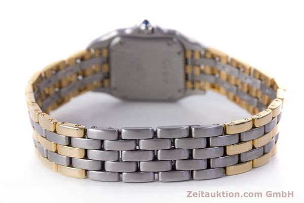 Used luxury watch Cartier Panthere steel / gold quartz Kal. 66  | 153565 11
