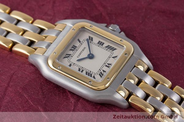 Used luxury watch Cartier Panthere steel / gold quartz Kal. 66  | 153565 14