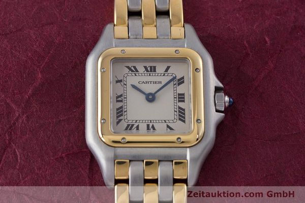 Used luxury watch Cartier Panthere steel / gold quartz Kal. 66  | 153565 15